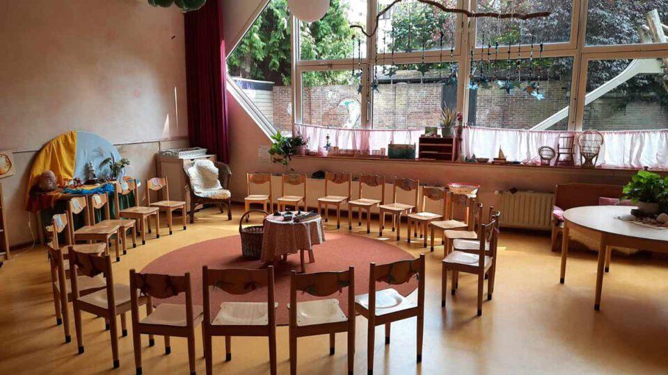 Een Vrijeschool kleuterklas in Utrecht